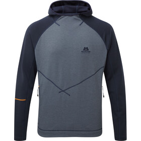 Mountain Equipment M's Clarion Hooded Crew Ombre Blue/Cosmos